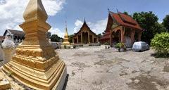 Panorama : Vat Sene in Luang Prabang, LAOS