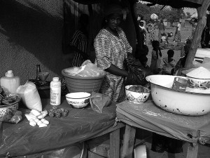Marchande d'épices à Bittou