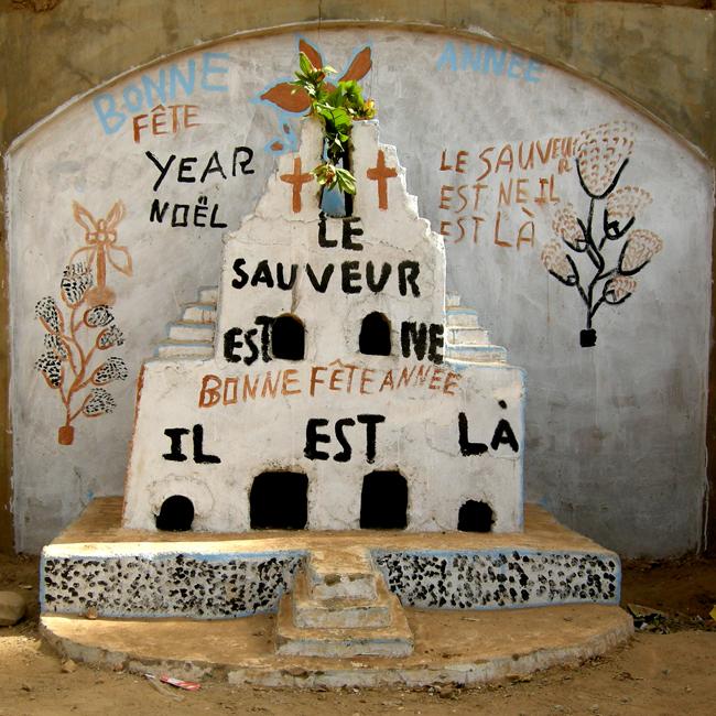 Crèches de Noël au Burkina Faso