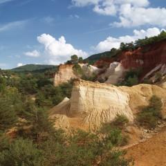 Lubéron en Provence et Colorado provençal