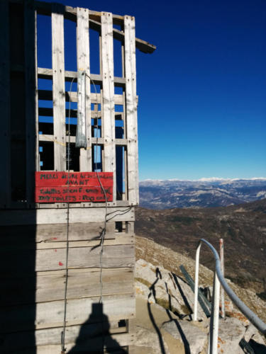 Refuge de l'observatoire du Chiran