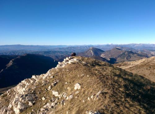 Crête et Observatoire du Chiran 23/12/2014